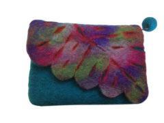 Leaf purse – assorted colours