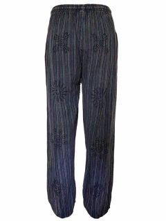 Cotton alibaba trousers – Purple