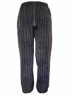 Cotton alibaba trousers – Black