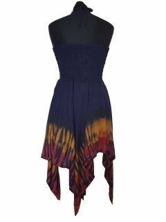 Lightweight summer dress/skirt – Blue