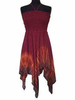 Lightweight summer dress/skirt – Red
