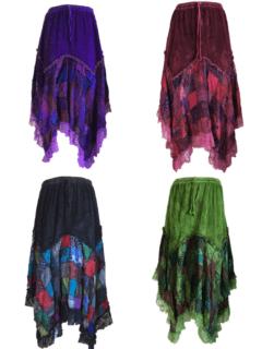 Cotton Patchwork Skirt