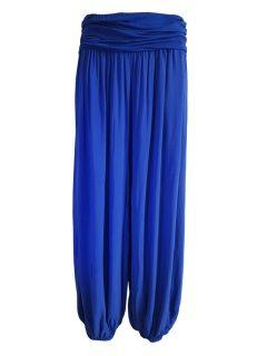 Italian Ali baba trousers – Royal Blue