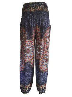 Ali baba trousers: Mandala – Black