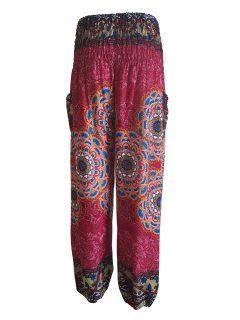 Alibaba trousers: Mandala – Red