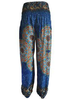 Alibaba trousers: Mandala – Royal Blue