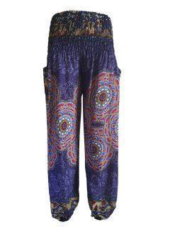 Ali baba trousers: Mandala – Navy