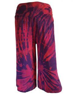 Tie dye shorts – Red