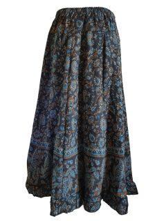 Cashmillon Skirt- Black paisley