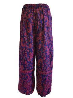 Cashmillon trousers- Blue Paisley