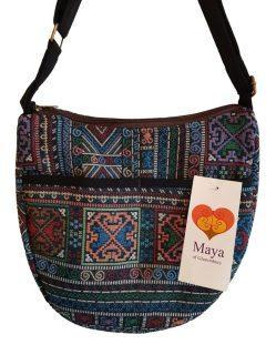 Cotton shoulder bag – Multi 1