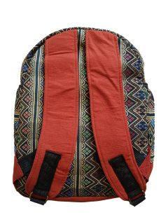 Cotton backpack – Orange