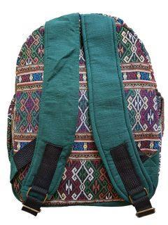 Cotton backpack – Green