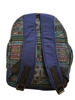 Cotton backpack – Blue