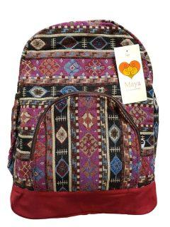 Cotton backpack – Red