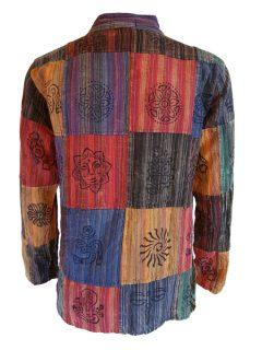 Patchwork shirt- Long sleeved