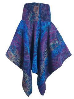 Cashmillon winged skirt – Blue
