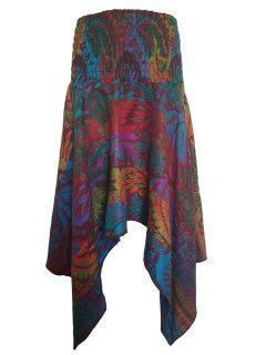 Cashmillon winged skirt – Multi