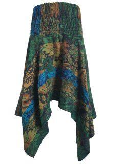 Cashmillon winged skirt – Green