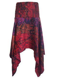Cashmillon winged skirt – Purple