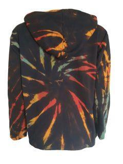 Tie dye jacket- Black