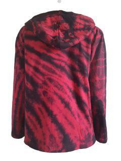 Tie dye jacket- Red