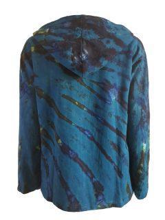 Tie dye jacket- Teal