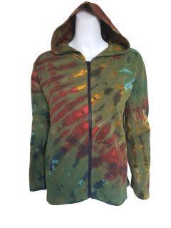 Tie dye jacket- Green