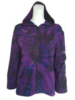 Tie dye jacket- Purple