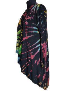 Tie dye Waterfall Cardigan- Multi