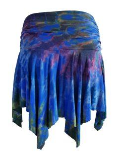 Tie dye pixie skirt – Royal Blue