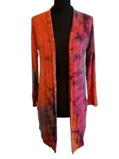 Tie dye Cardigan- Orange