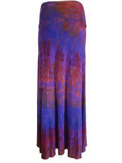 Tie dye skirt- Purple