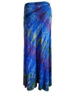 Tie dye skirt- Royal Blue