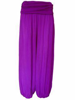 Italian Ali baba trousers – Purple