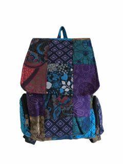 Patchwork rucksack