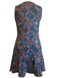 Mandala tunic – Blue