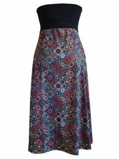 Mandala Dress/ skirt – Red