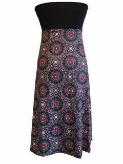 Mandala Dress/ skirt -Grey