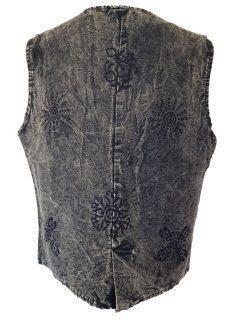 Stonewash Waistcoat – Green