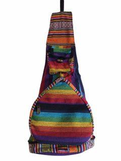 Fold away Backpack – Rainbow