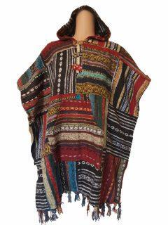 Square Poncho – Patchwork