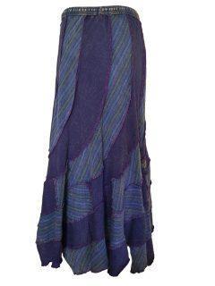 Pixie hem panel skirt- Purple