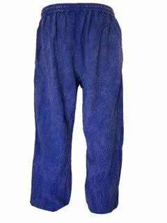 Panel trousers- Blue