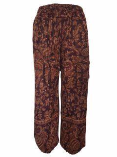 Cashmillon trousers- Brown paisley