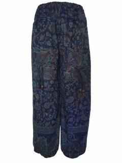 Cashmillon trousers- Blue Paisley