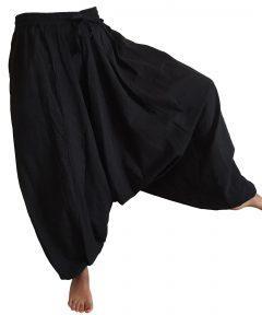 Plain Harem trouser – Black