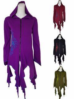 Lightweight pixie hood jacket