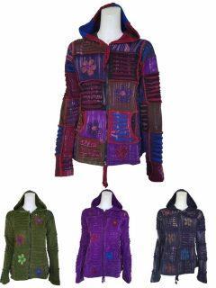 Pixie hood patchwork Jacket