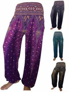 Ali Baba trousers - Peacock